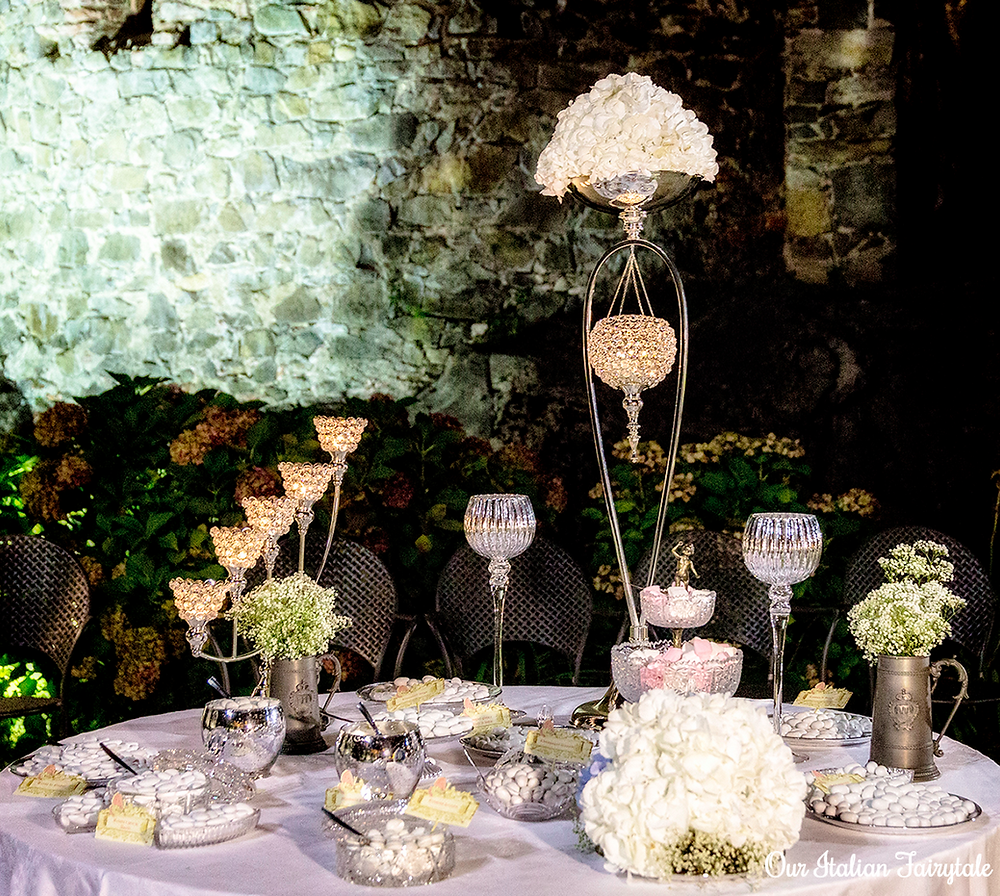 Elegant Traditional Italian Wedding Confettata - Our Italian Fairytale - Get Married in Italy