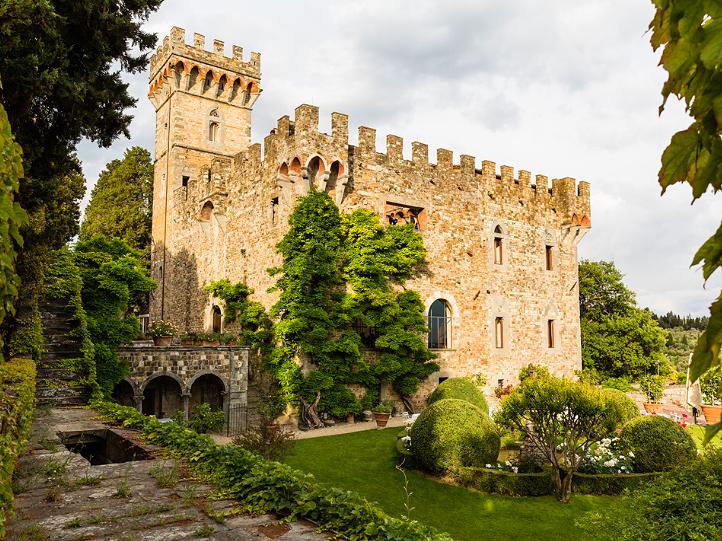 Castello di Vincigliata Wedding Venue Florence