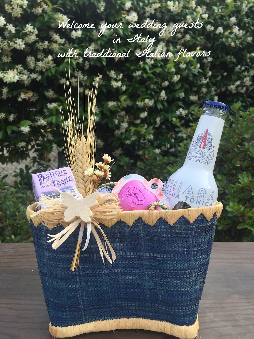 Wedding In Italy Ideas - Welcome Bag - Our Italian Fairytale