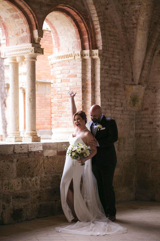 Wedding At San Galgano Abbey Tuscany | Our Italian Fairytale