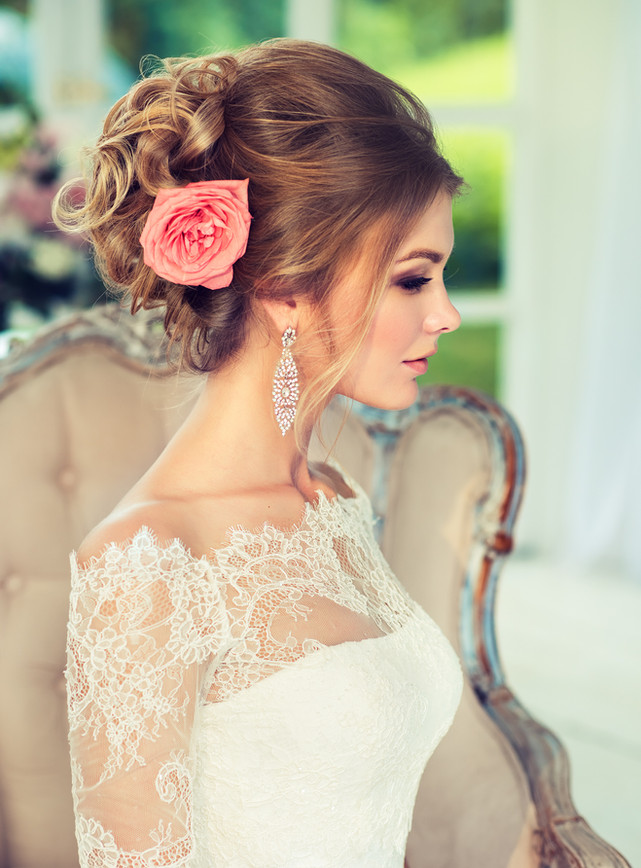 Look Of The Day: Romantic Bride