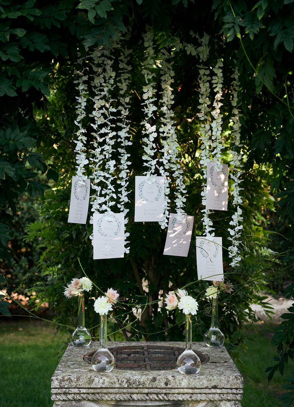 Wedding Seating Plan   Our Italian Fairytale