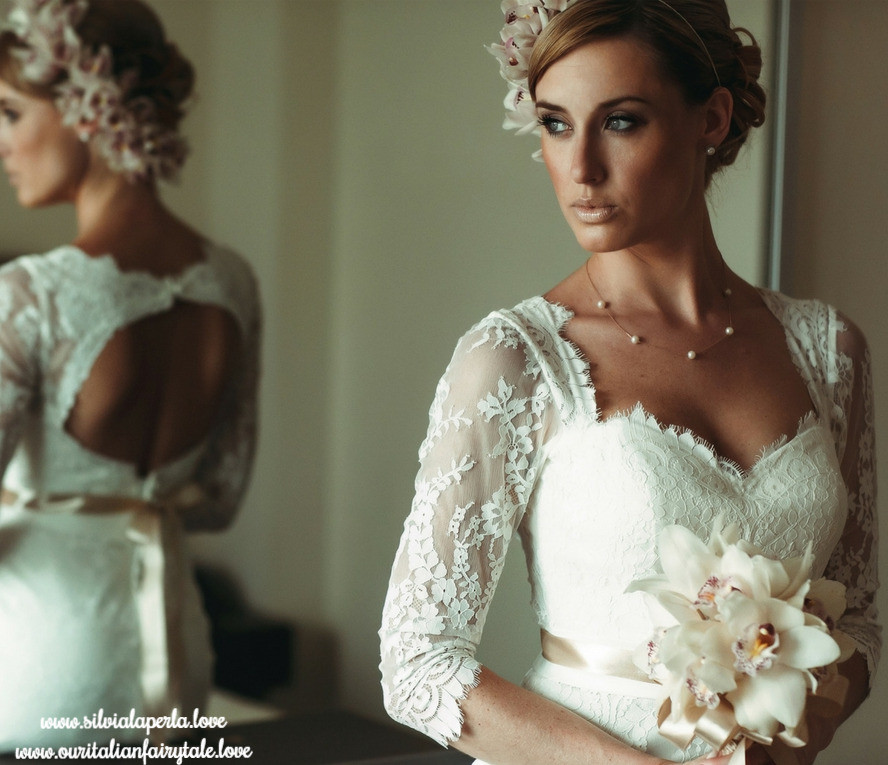 Beautiful Bride Getting Married In Italy | Our Italian Fairytale