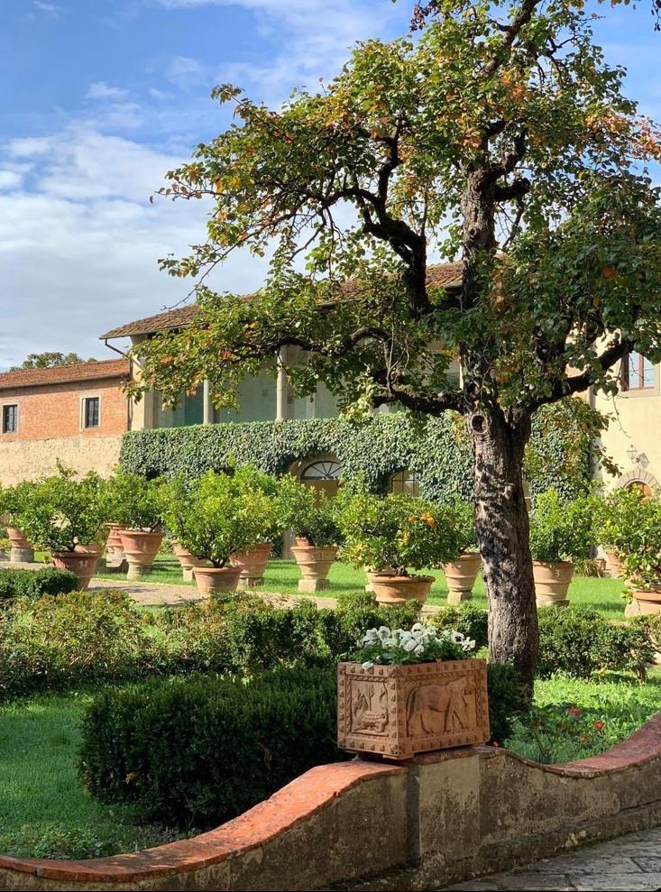The stunning Italian garden