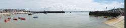 St. Ives Harbour at High Tide