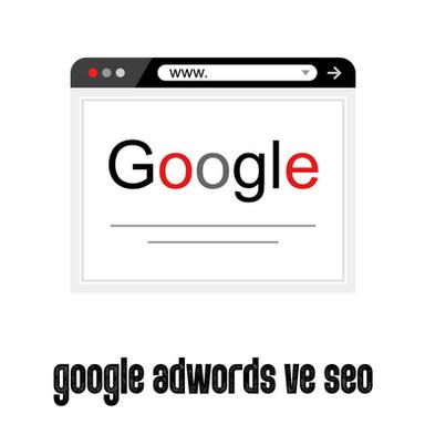 google adwords ve seo