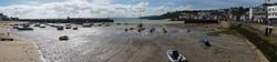 St. Ives Harbour at Low Tide