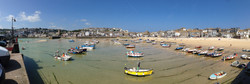 St. Ives Beach at High Tide