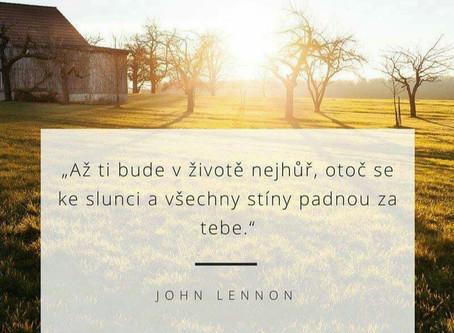 Citát od Johna Lennona