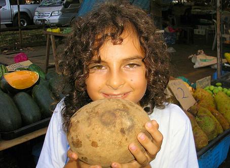 Osmiletý kluk na RAW stravě