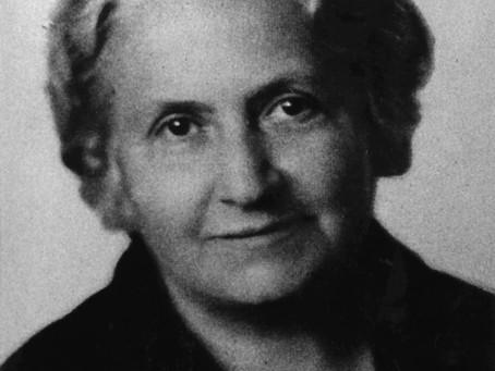 Dr. Maria Montessori rodičům