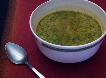 Recept: Pikantní Raw Mrkvová polévka