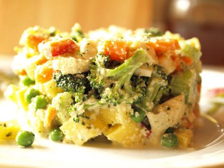 Recept: Raw bramborový salát