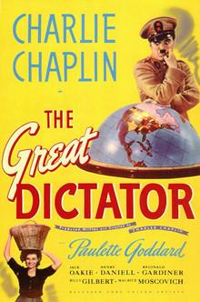 Charlie Chaplin: Projev velkého diktátora
