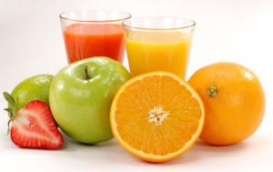 Ovocné, zeleninové a bylinné šťávy