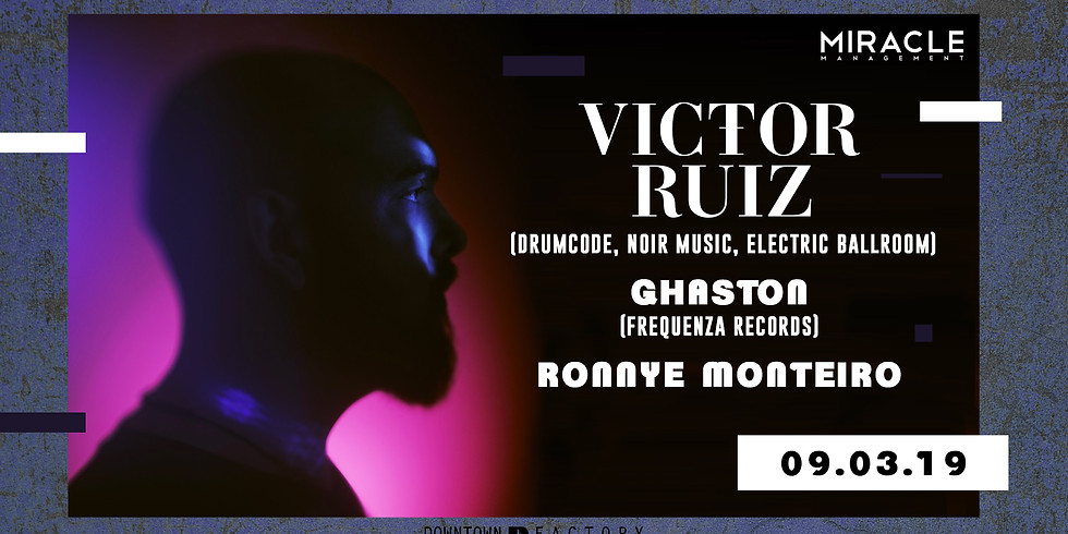 Downtown Factory invite VICTOR RUIZ