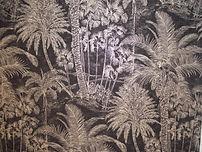 Papier peint Palmier.