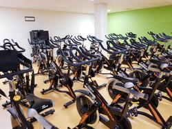Salle de cycling