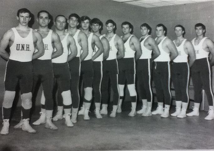 1969 UNH Wrestling Team