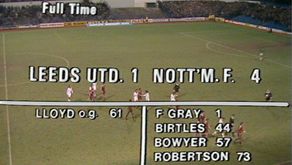 Forest on TV: Late 70s defeats & New Year return to Leeds