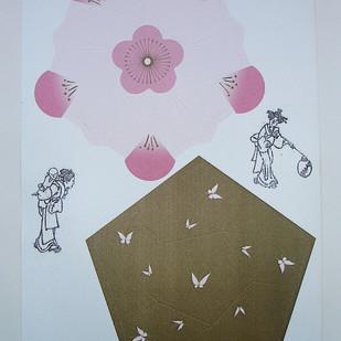 Transfer em imagem impressa - Hokusai