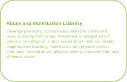 Abuse and Molestation Coverage