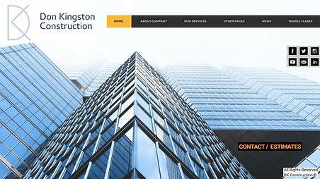 Wesite Design Landing Page