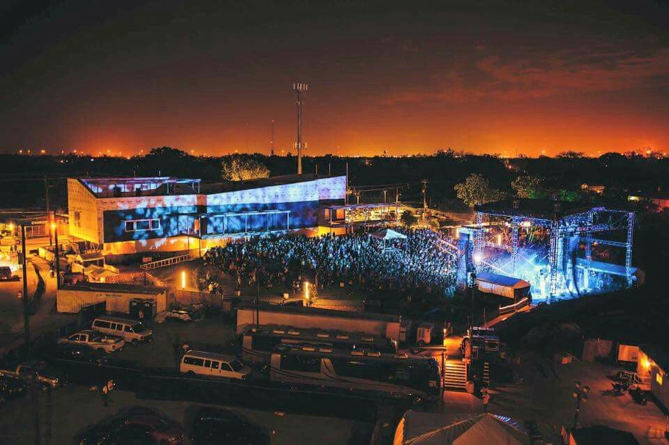 Outdoor concert at White Oak Music Hall