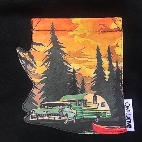 Limited Edition Campfire Jam IV POP x Qmulative Arizona Pocket Tee