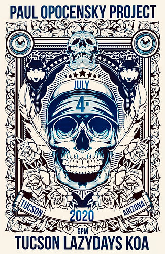 """4th of July """"Epic"""" Show Limited Edition Poster"""