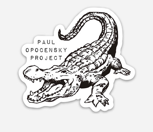 """Gator""Die-Cut Sticker"