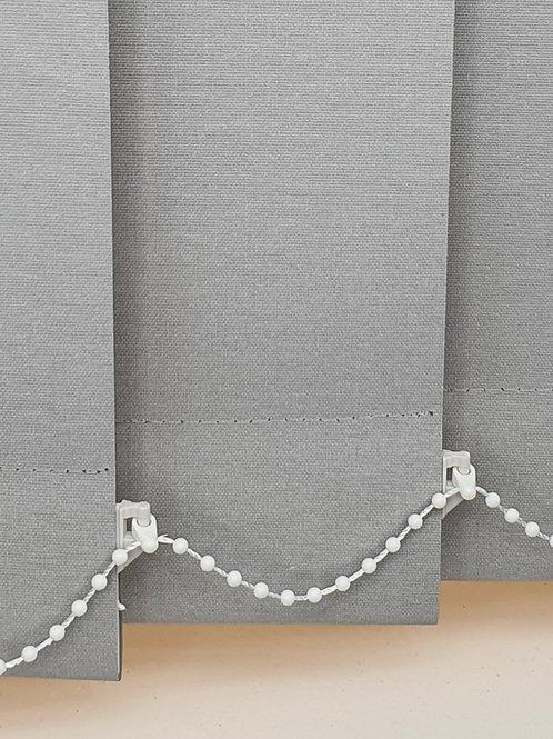 Polaris blackout grey vertical 89mm replacement blind slat