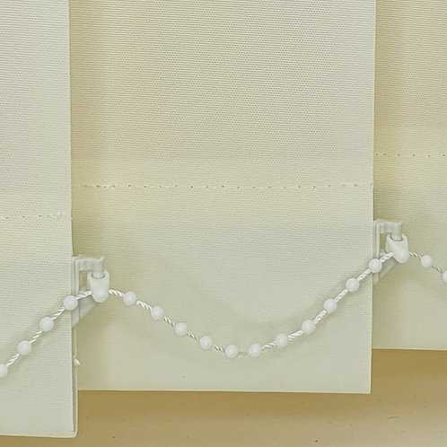 Polaris Cream replacement vertical blind slat  89mm