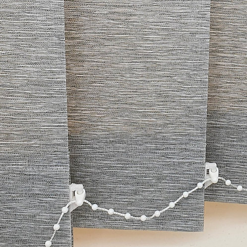 Harmony Greystone replacement vertical blind slat 89mm