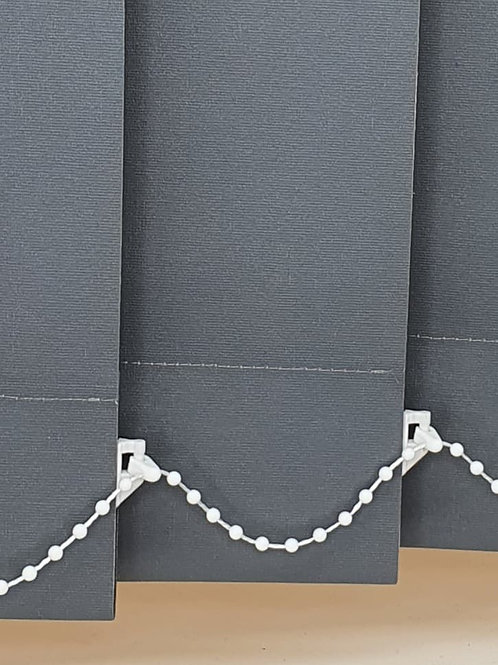 Polaris Charcoal 89mm Vertical Replacement Blind slat