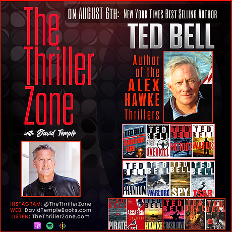 Thriller Zone - Ted Bell Poster.png