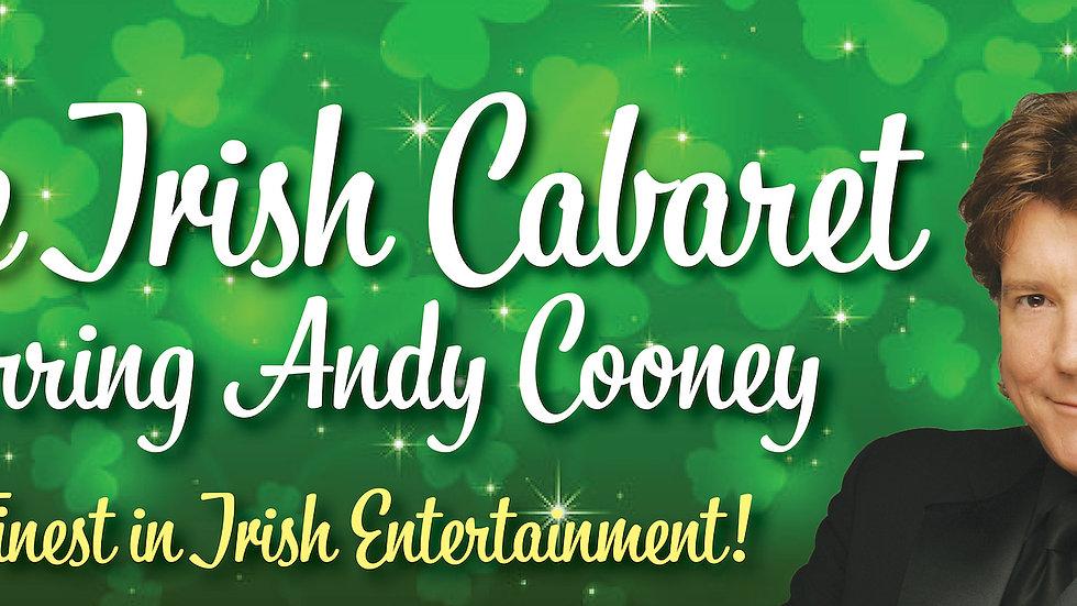 The Irish Cabaret! Starring Andy Cooney