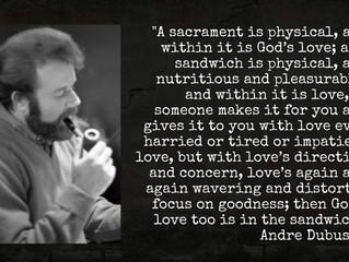 The sacrament of a sandwich