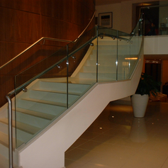 Helical stair and balustrade