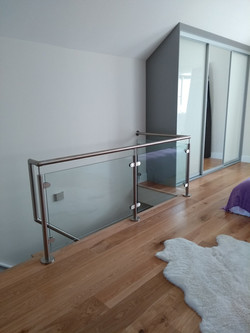 A nice balustrade installation completed