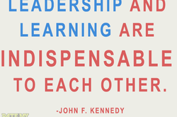 Leadership and Learning go hand-in-hand