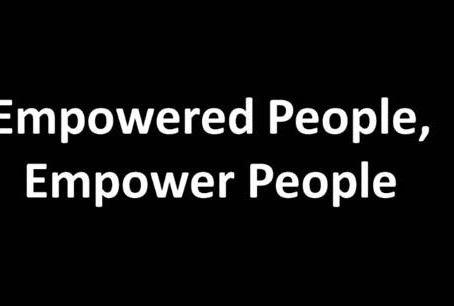 Empowered People, Empower People:  A Message From Dr. Akil Ross