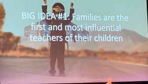 Families are the first and most influential teachers of their children.