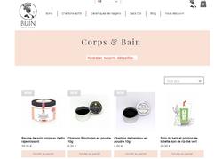 refonte boutique en ligne Bijin