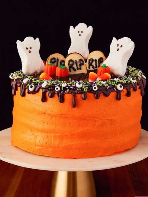 Virtual Class: 2 Day Halloween Cake Workshop 10/27-28@ 5PM