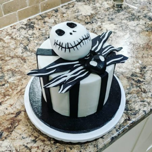 Virtual Class: Jack Skellington Cake Two Day Workshop 10/17-10/18 @10AM
