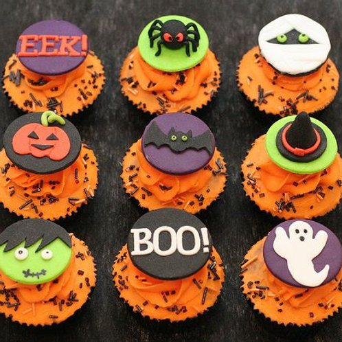 Mommy & Me: Halloween Cupcake Baking and Decorating 10/24 @ 11:00AM