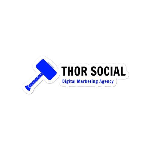 Thor Social Sticker