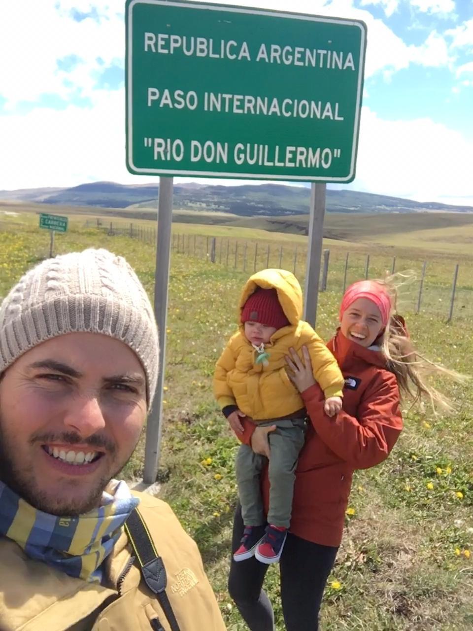 """Paso Internacional de Argentina a Chile """"Rio Don Guillermo"""""""