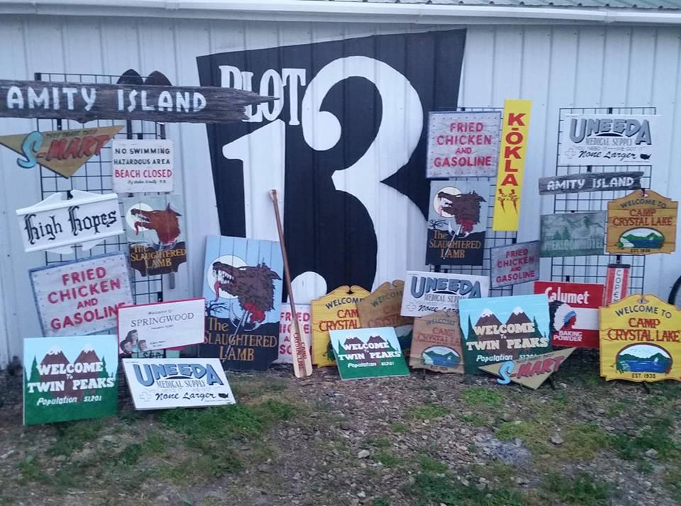 Plot 13 Signs